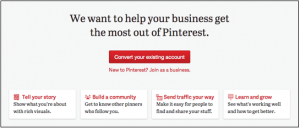 How To Convert A Pinterest Account