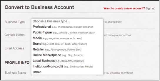 How to Create a Pinterest Account for Business