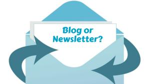 blog or newsletter, betsy kent, be visible, blog school