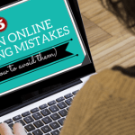 online marketing mistakes, betsy kent, be visible