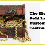 The Gold Hidden In Your CustomerTestimonials, betsy kent, be visible, ideal client