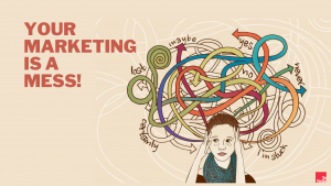finding ideal client, marketing mess, betsy kent, be visible