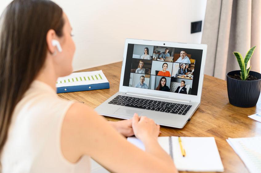 virtual networking, elevator speech, Zoom meeting